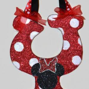 GLITTER Classic Red Minnie Mouse In..